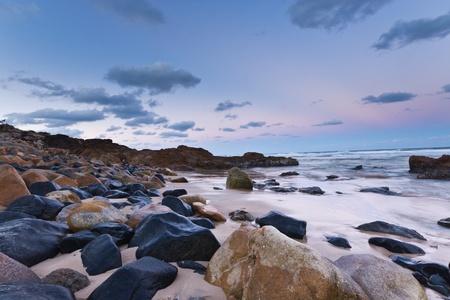 Sunset over Coolum Beach, Queensland photo