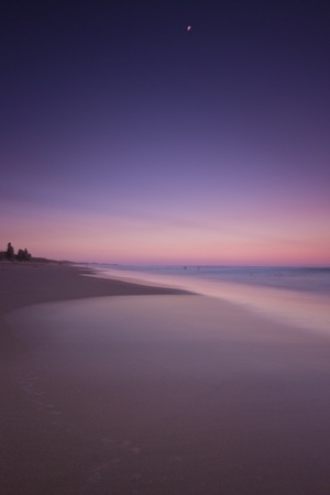 Sunset at Dicky Beach, Queensland photo