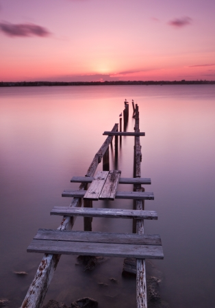 Old Jetty, Cleveland, Queensland photo