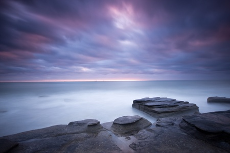 Sunrise at Coolum Beach, Queensland photo