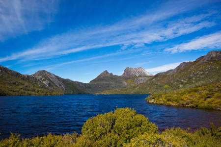 bushwalk: View from Marions Lookout at Cradle Mountain, Tasmania