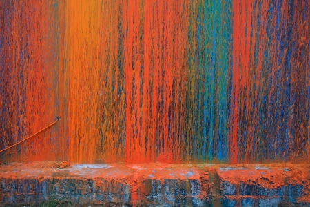 christchurch: Painted Wall, Christchurch, New Zealand