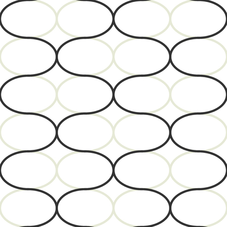 dark beige: Abstract geometric seamless vector pattern. Trendy textile or interior wallpaper repeatable texture. Tony natural light beige and dark grey color shades. Waves shapes background.