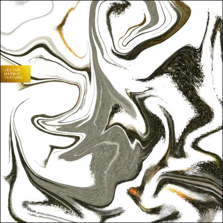 sienna: Natural colors marble imitation seamless pattern Illustration