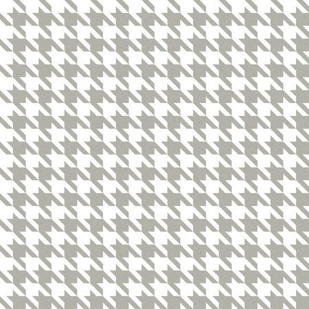 hounds: English tweed seamless texture in white and cold grey colors. Hounds tooth pattern with warm wool fabric effect.