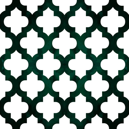 Abstract geometric seamless pattern. Trendy textile or interior wallpaper repeatable texture. Tony natural light beige andgreen