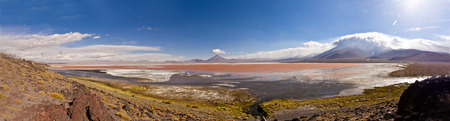 Laguna Colorada, Bolivia photo