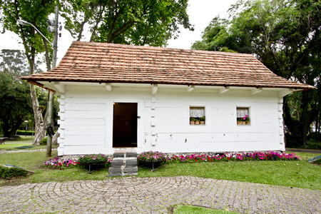 Polish colonial house museum, in Curitiba, Brazil