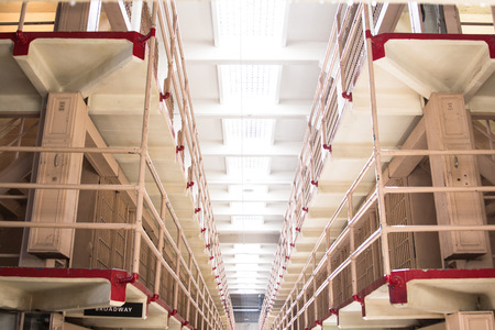 alcatraz: Inside the cellblock in former Alcatraz Penitentiary