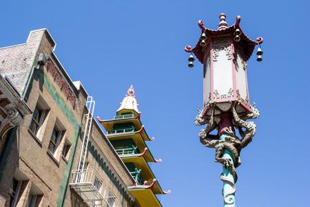 Un détail sur Chinatown de San Francisco