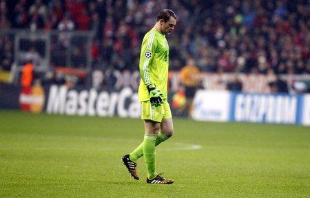 ミュンヘン, ドイツ - 11 月 5 日: マヌエル Neuer バイエルン ミュンヘン チャンピオンズ リーグ中、エントレ AS ローマとバイエルン ミュンヘン、ア 報道画像
