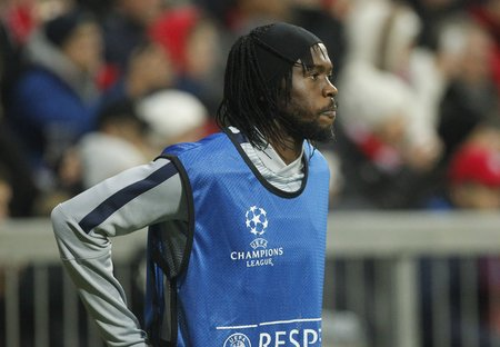 Roma: Munich, Germany - November 5: DURING THE FGervinho entre Roma Champions League Bayern Munich and AS Roma at the Allianz Arena November 5, 2015 Munich, Germany Editorial