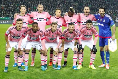 チャンピオン リーグでユベントス一致ボルシア ・ メンヒェングラートバッハ - ボルシア ユベントスのステージ - パルク 2015 年 11 月 3 日、ドイツ、