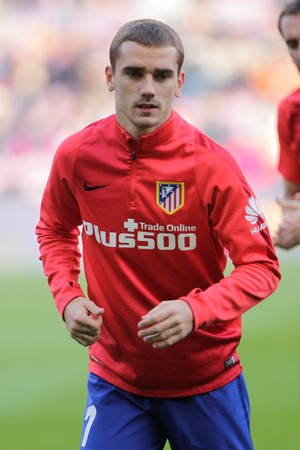 Antoine Griezmann in the match FC Barcelona Liga - Atletico Madrid January 30, 2016 at the Camp Nou, Barcelona, Spain