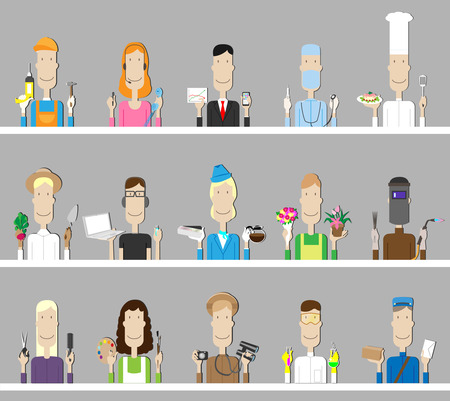 professions: profesiones Vectores