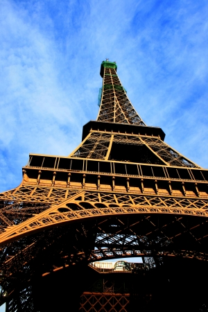 French tower from below Stock Photo - 17463103
