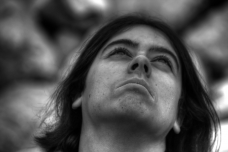 melancholijny: biała kobieta z melancholijny Zdjęcie Seryjne