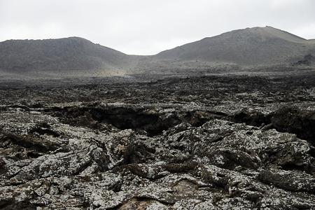 volcanic landscape Stock Photo - 29348000