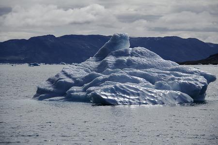 serac: iceberg in greenland
