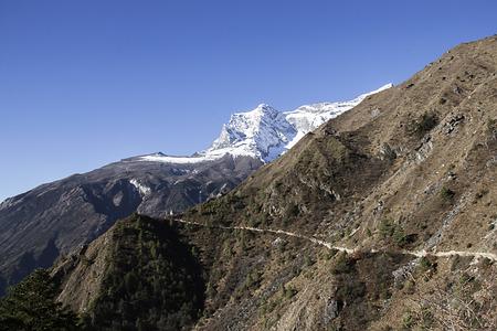 serac: himalayas landscape Stock Photo