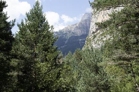 ordesa: view of ordesa