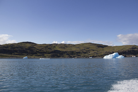 polar climate: iceberg in south greenland