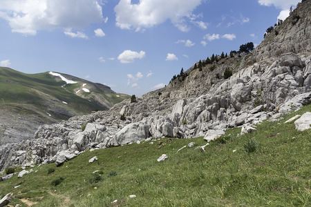 pyrenees: landscape of pyrenees