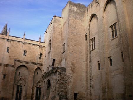 avignon: popes palace in avignon Editorial