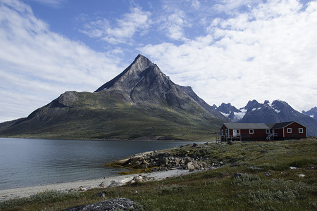 artic: landscape of south greenland