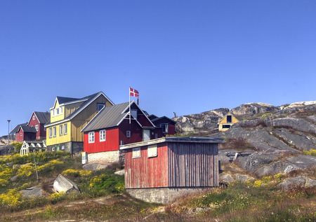 artic: town of south greenland