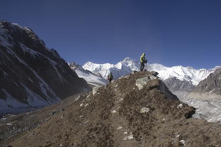 himalayas: high mountains in himalayas