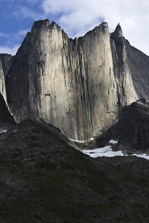extreme terrain: mountains in south greenland