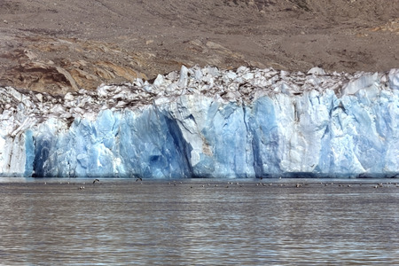 nordic country: glacier in south greenland