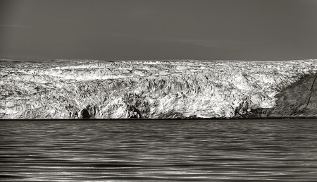 extreme terrain: glacier in south greenland