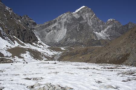 himalayas: landscape of himalayas Stock Photo