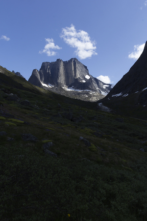 extreme terrain: landscape in south greenland