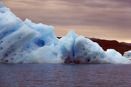 nordic country: iceberg in the south greenland