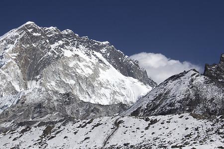 himalayas: landscape in himalayas