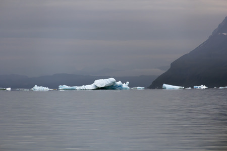 artic: iceberg in south greenland