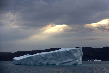 artic: iceberg in the south greenland