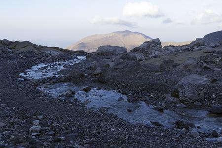 perdido: landscape in north spain Stock Photo