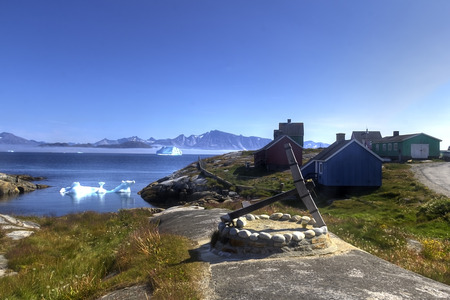 artic: town in south greenland