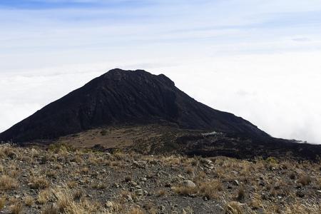 tanzania: meru volcano in tanzania