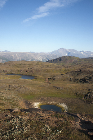 extreme terrain: landscape of south greenland