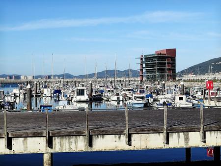 nautical structure: harbor in spain