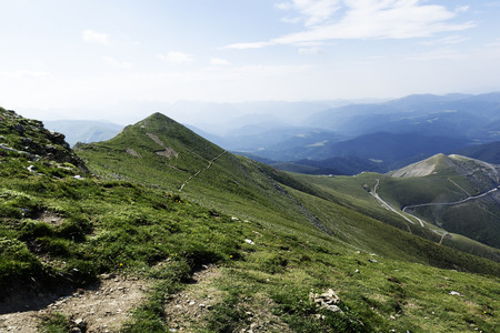 pyrenees: summit of pyrenees Stock Photo
