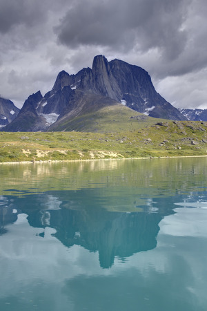 landscape of south greenland