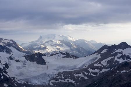 landscape of caucasus in russia Stock Photo