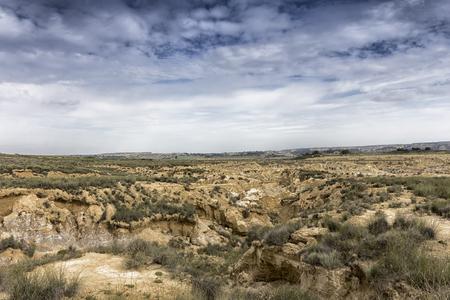 landscape in the desert in spain Banco de Imagens - 84916327