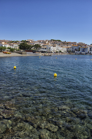 view of the coast of cadaques Stock Photo